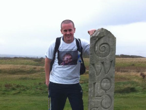 Matt did the Wolds Way Walk in October 2011 rasing a fantastic £300 for Freddie's Friends. Well done Matt xx
