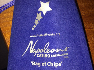 Napoleons Casino chip bag