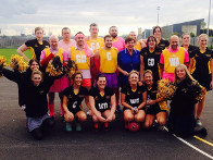2015: Aspire Academys male v female netball match raised funds for us