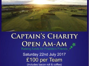 2017: Captain's Charity Open