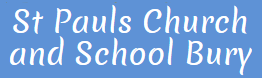 St Pauls Church Bury logo